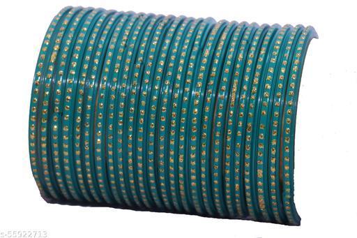 Shubhlaxmi glass bangles party wear bangle set for women & girls (pack of 24)