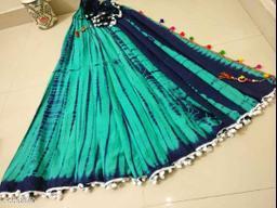 Attractive Cotton Mulmul Saree