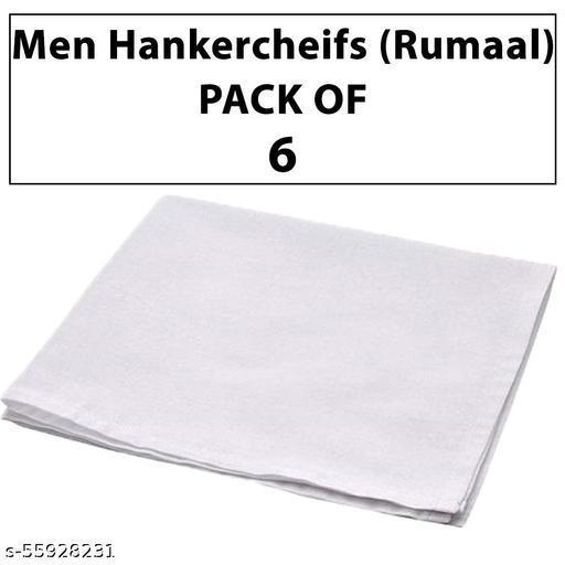 Premium Hankercheifs For Men PACK of 6