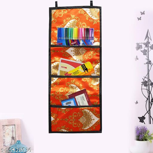 Wall Organizer 3 Pocket Wardrobe Storage Shelf wall organizer for , Cosmetics, Toys, and Stationary