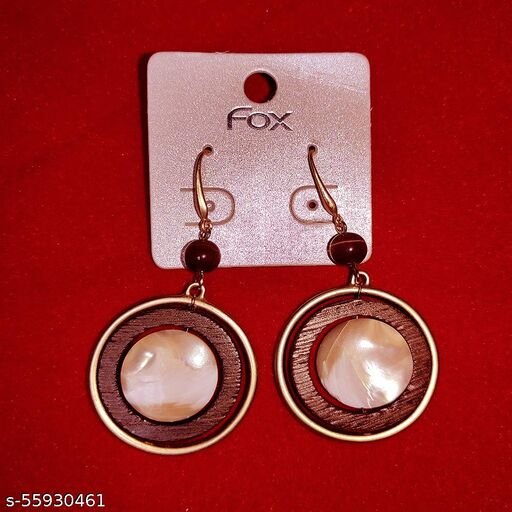Kriosm Jewels Exclusive Luxuria Edition Diva Fusion Dangle Earrings for Women and Girls