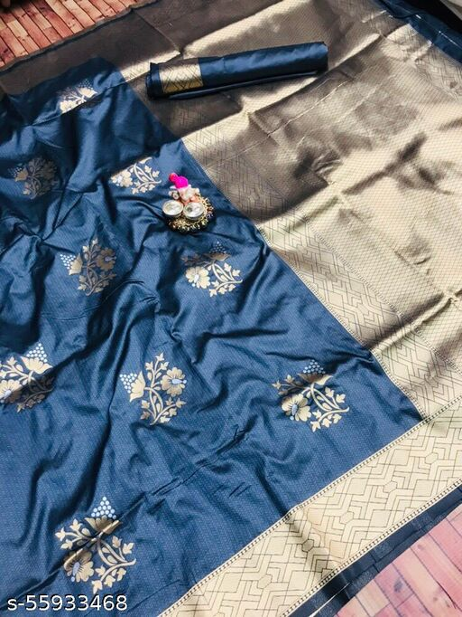 DP Tex Present Kanchipuram Pure silk handloom saree with Pure Jari