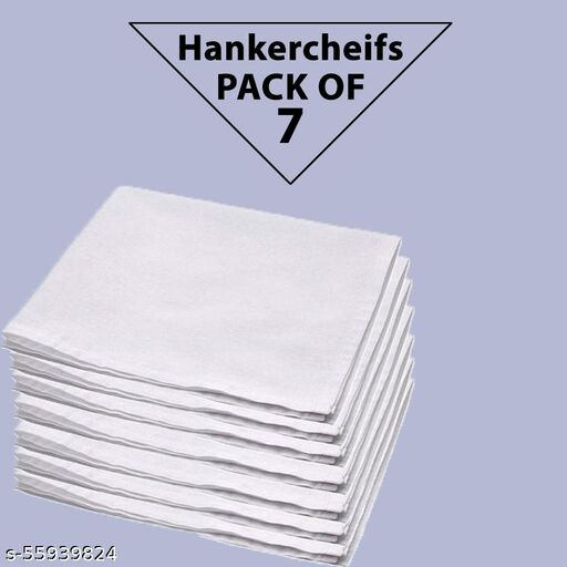Best Quality Men Hankercheifs Combo Pack of 7