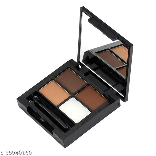 Swiss Beauty Eyebrow Palette (Shape My Brows 3 Brows Powder+1 Wax Cream), Eye Shadow-02
