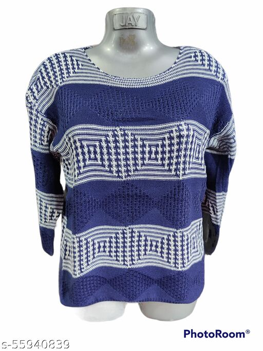 Comfy Retro Women Sweaters