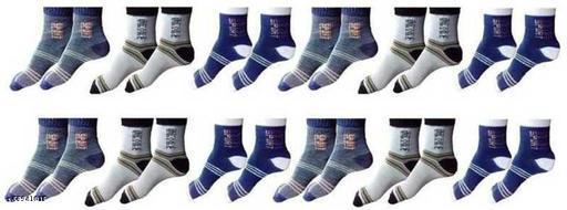 Casual Modern Men Socks Pack of 12