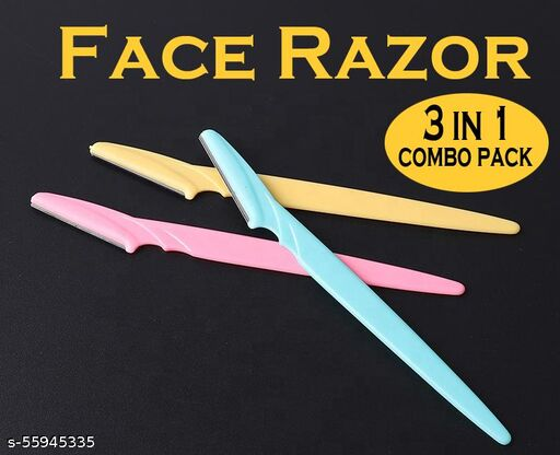 Professional hair remover razor 3 in 1 pack