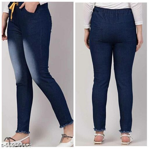 Pretty Fashionable Women Women Jeans