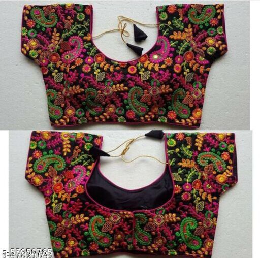 KAVRESHA NEW LATEST DESIGN EMBROIDERY WORK BLOUSE