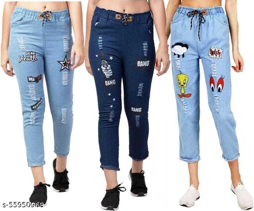 Stylish Latest Women Women Jeans