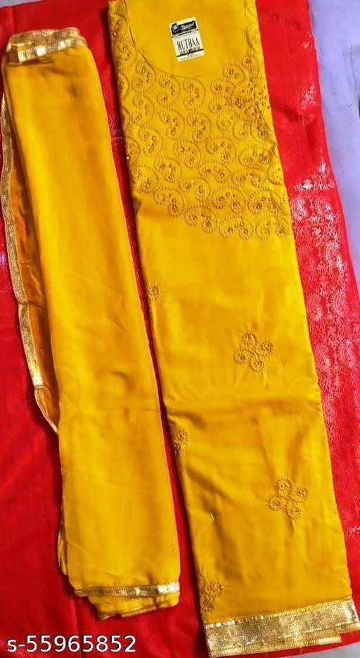 Buy Cotton Suit for Women with salwar & Dupatta (Unstiched) Suits