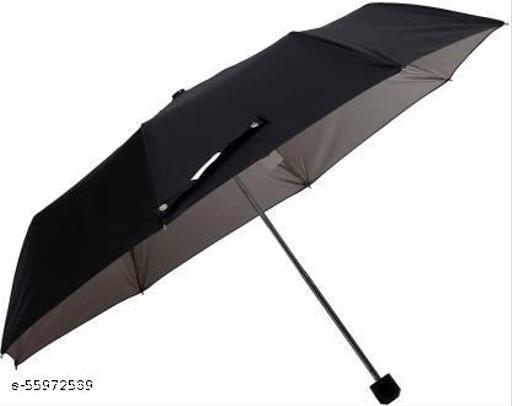 STAG UMB-101-3 Fold Manual type Umbrella - Black