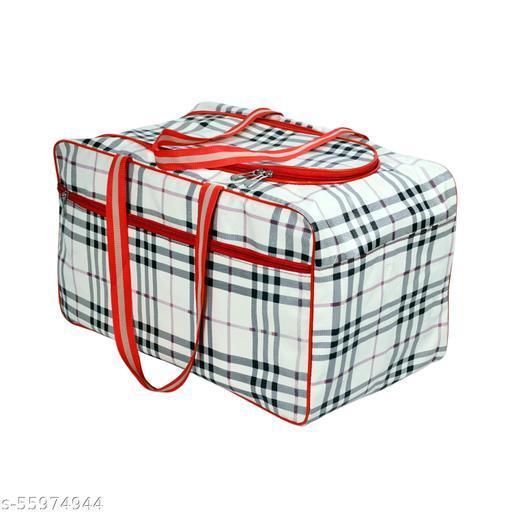 CS Collection Duffel Bag Travel Bag Luggage Bag Shoulder Handbag Storage for Luggage Travel Luggage Carry Bag Clothes Storage Weekender Bag (RED)