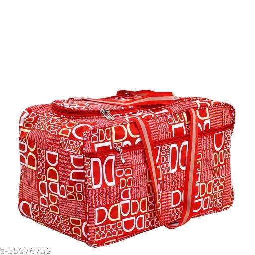 CS Collection Duffel Bag Travel Bag Luggage Bag Shoulder Handbag Storage for Luggage Travel Luggage Carry Bag Clothes Storage Weekender Bag (Full RED)