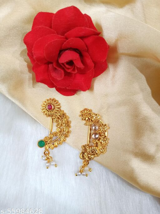 maharastian style nosepin