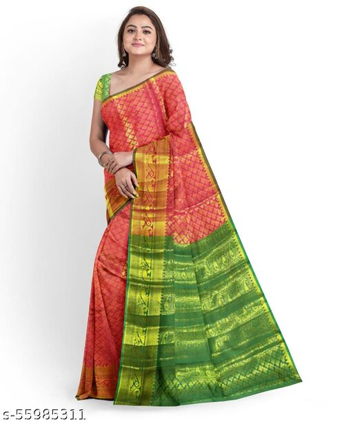 Silk blend Saree