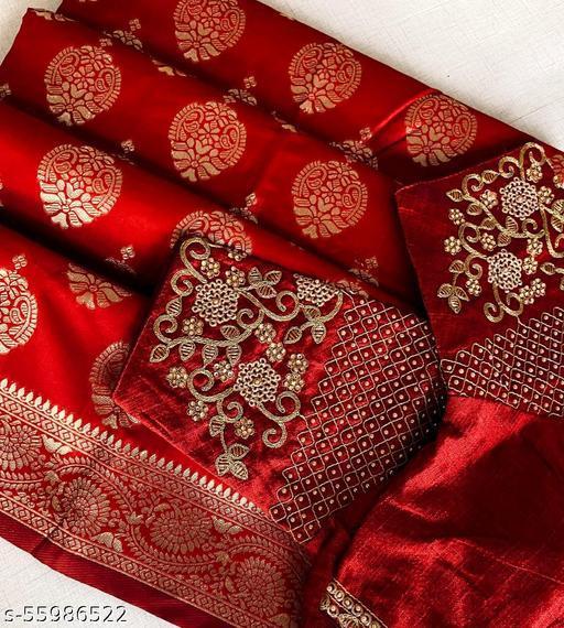 Wedding Red Carpet Saree