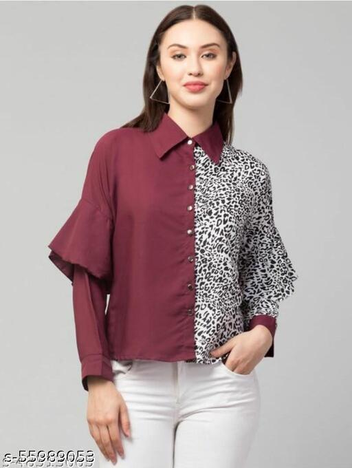 Comfy Partywear Women Shirts
