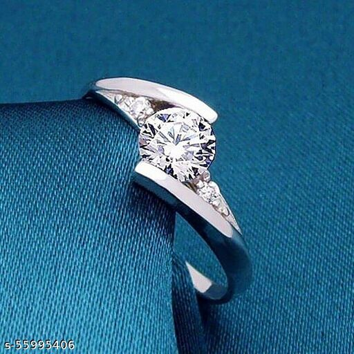 Imperial silver ring