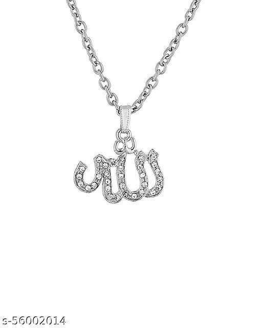Allah word in Urdu spiritual Stylish Pendant for Men