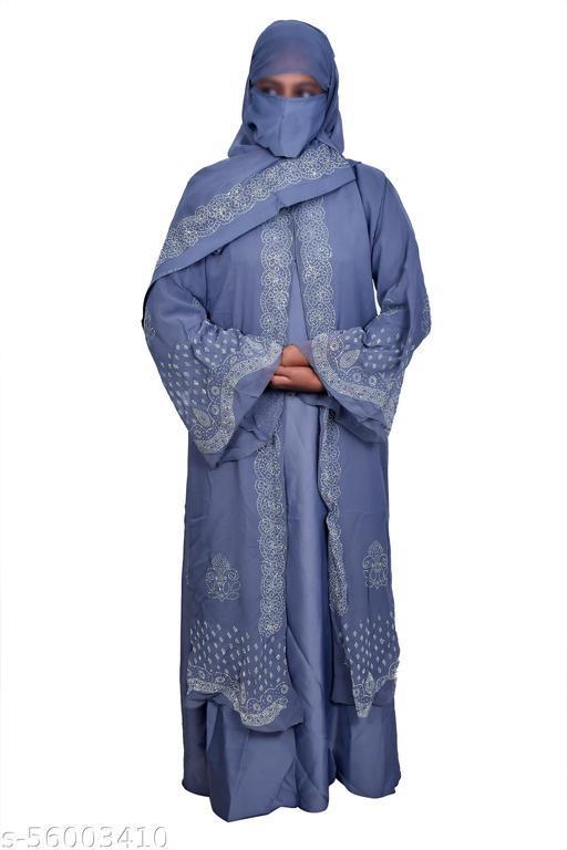 NIDA DOUBLE CLOTH BURQA