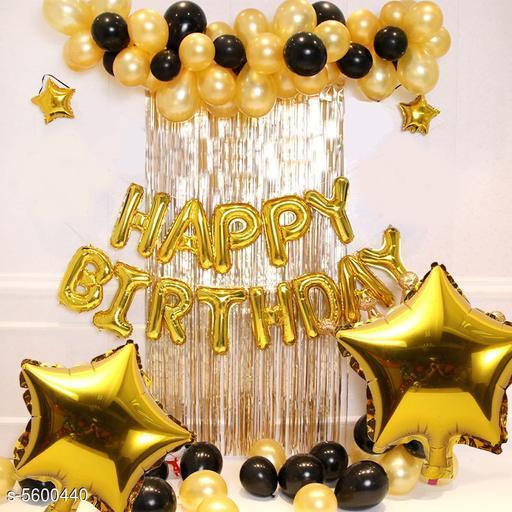 Trendy Birthday Decorative Items