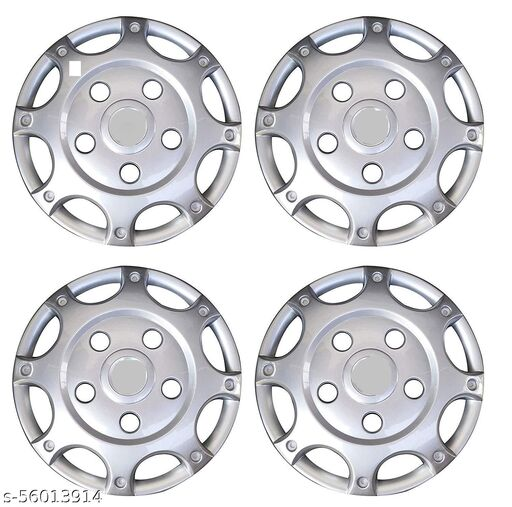 SP TRADERS Unbreakable Quality Wheel Cover 15Inch For Mahindra Bolero - Set Of 4Pc