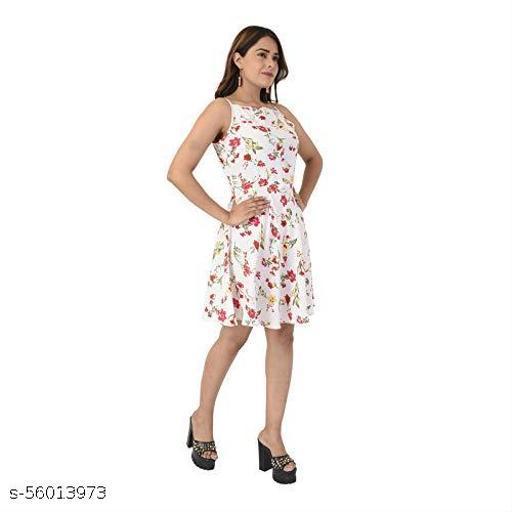 ESTERE Womens Stylish Wear Western Dress for Women