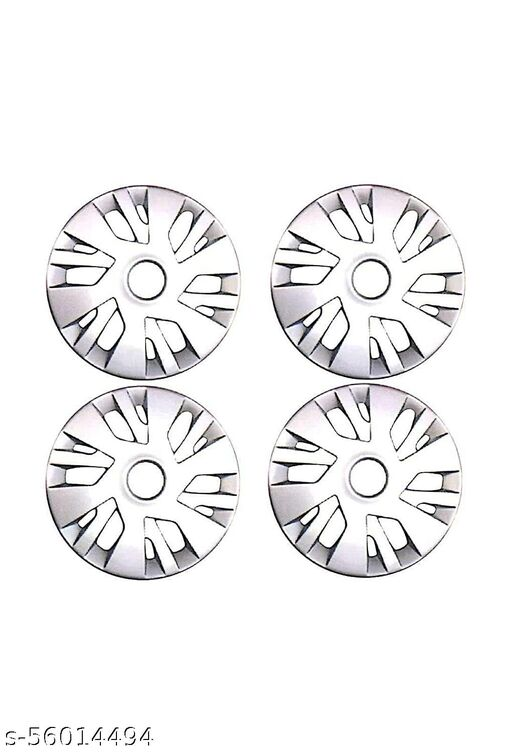 SP TRADERS Unbreakable Quality Car Full Caps Silver 14Inches Wheel Cover For - Swift New