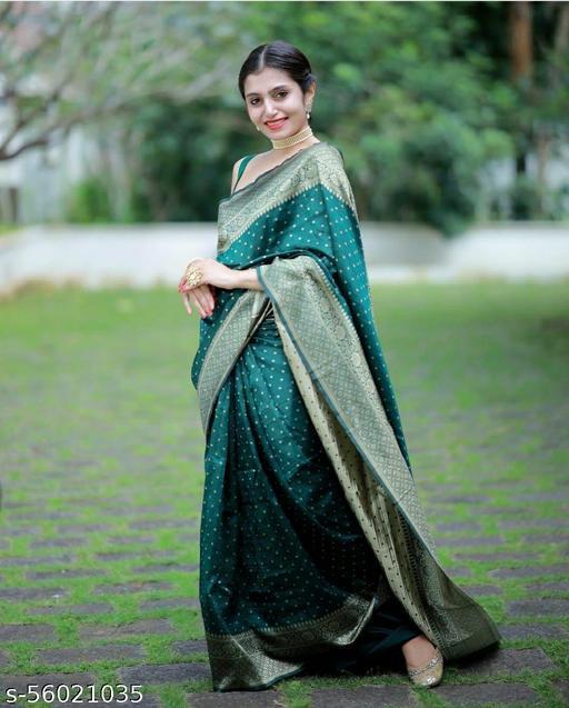 Womens Kanchpuram silk saree