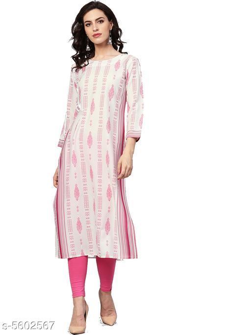 Ahika Trendy Stylish Crepe Women's Kurti