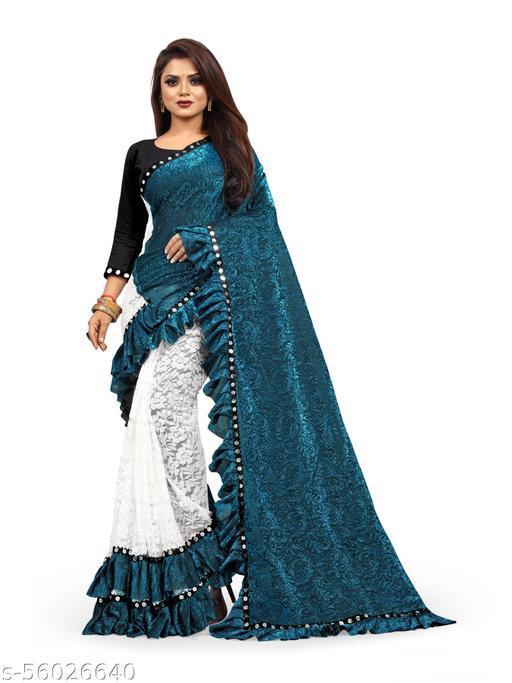 Fancy Naylon Blend Saree