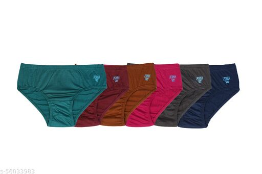 Women Hipster Multicolor Panty  (Pack of 6)