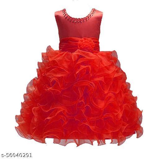 Linya Girls Maxi/Full Length Party Dress