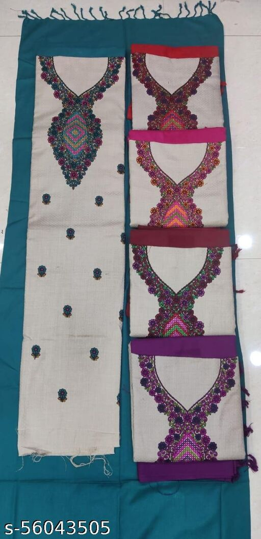 Pasmina Suits with Bottom and Stole
