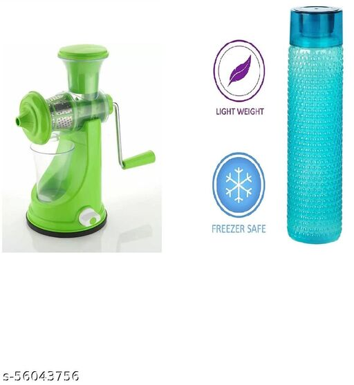 Juicer and waterbottle