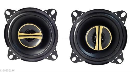 """4""""x4""""Extra Bass Sonus 2 Way High Bass Series Coaxial Car Speaker, (320W,Round shape) Coaxial Car Speaker  (320 W)"""