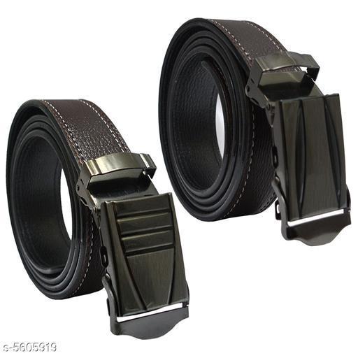 Elite Modern Men's Belts Combo