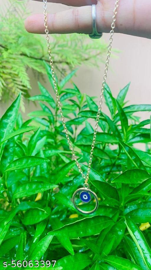 Dainty Evil Eye Necklace Chain