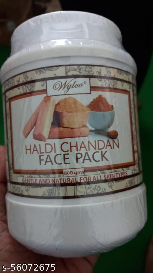 Haldi chandan face pack