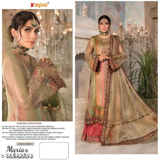 FEPIC ROSEMEEN MARIA B EMBROIDED 3.E Suits
