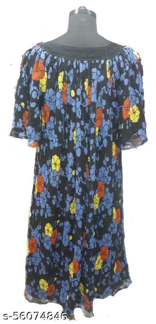 PURE CHIFFON SILK DRESS