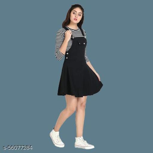 Classic Stylish Fabulous Women Black Jumpsuits