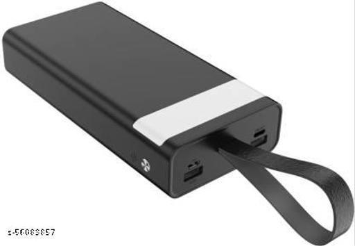 Candytech 30000 mAh Power Bank  (Black, Lithium)