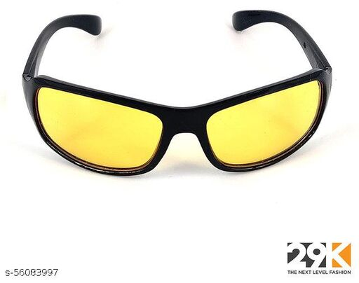yellow night vision sunglass