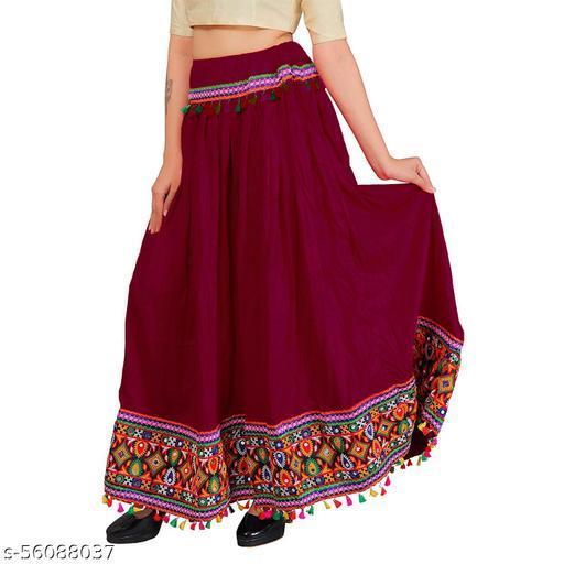 Jaipuri Ethnic Long Skirt For Women's