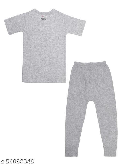 CHIMPRALA Boys Thermal Wear Set for Kids