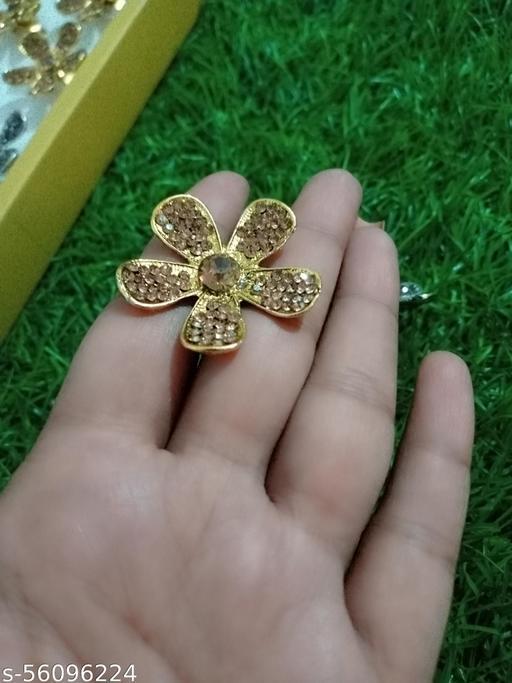 Flower Design Big size finger Ring for Women and Girl