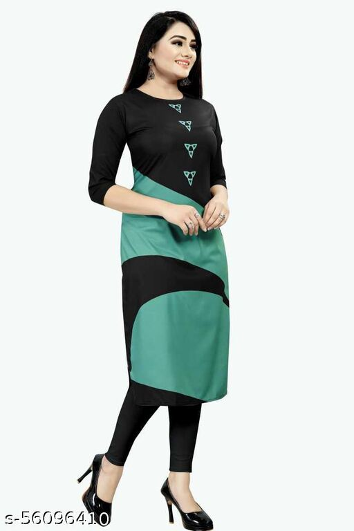 COLOUR CLUB Printed Kurtis For Woman Full Stitched
