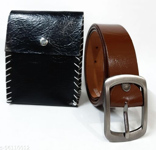 PURE LEATHER HANDMADE BELT FOR MEN. LIFE 10 YEARS 100% GAURANTEED.